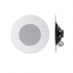 "Speco G86TG 86 Series - 8"" 70/25V Classic Grille In-Ceiling Speaker"