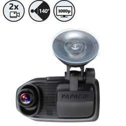 RVS Systems GS-760 Papago! Gosafe 760 Dual Dash Camera With 140