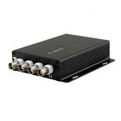 GEM HDMP-1X4 1080p High Performance Multiplexer 4 HD-TVI Signals Over 1 Coax, 300 feet, Pair