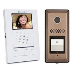 Comelit HFX-700M Color Hands Free Kit with 3.5-Inch LCD Monitor