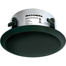 Bogen HFCS1LPB High-Fidelity Ceiling Speaker (Black)