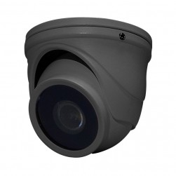 Speco HINT71TG HD-TVI IntensifierT Mini Turret Camera, Grey Housing, 2.9mm Lens