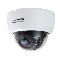 Speco HLED33D1W 700 TVL 960H Dual Voltage Indoor Dome Camera, 2.8-12mm Lens