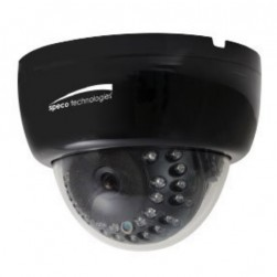 Speco HLED33DTB 1080p HD-TVI Indoor IR Dome Camera, 2.8-12mm Lens, Black Housing