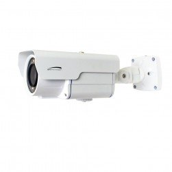 Speco HLPR67T HD-TVI 1080p Weather Resistant License Plate Bullet Camera, 5-50mm Lens