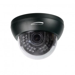 Speco HT649K 1000 TVL Indoor IR Dome Camera, 2.8-12mm Lens