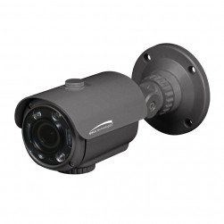 Speco HTFB2TM HD-TVI 1080p Flexible Intensifier Technology Bullet Camera, 2.8-12mm Lens, Dark Grey Housing