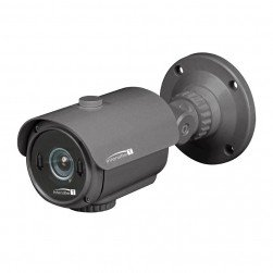 Speco HTINT701T Intensifier T HD-TVI 1080p Indoor/Outdoor Bullet Camera, 3.6mm Lens, Grey