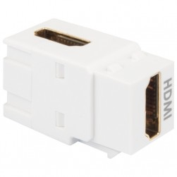ICC IC107AHMWH 90 degree HDMI Female-to-Female Module White