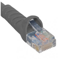 ICC ICPCSK05GY Cat 6 Patch Cord, Gray, 5 Ft.