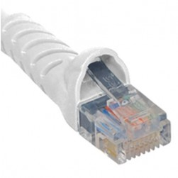 ICC ICPCSK01WH Cat 6 Patch Cord, White, 1 Ft.