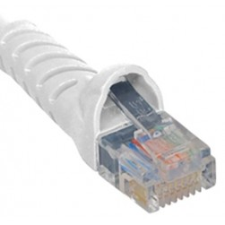 ICC ICPCSK05WH Cat 6 Patch Cord, White, 5 Ft.