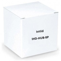 InVid IHD-HUB-8P 8 Channel HD Passive Video Balun RJ45 and Detachable Terminal Blocks