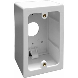 "Alpha IHS527 Surface Plast Housing--2.55"" DEEP"