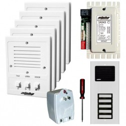 Alpha IK543/5S 5-Unit Apartment Intercom Kit+Wire