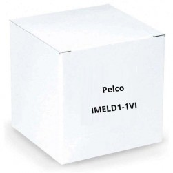 Pelco IMELD1-1VI Clear Lower Dome Vandl In-ceiling SRX Enhncd MiniDome