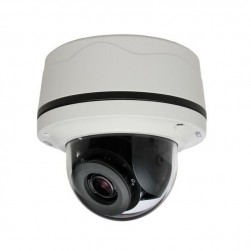 Pelco IMP321-1IS 3 Megapixel Network Indoor Dome Camera, 3-10.5mm Lens