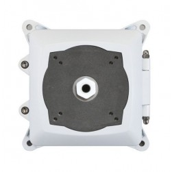 Speco INTJBSW Outdoor Square Junction Box, White