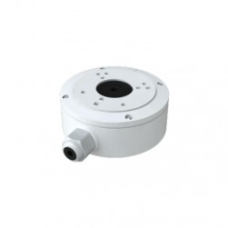 InVid IPM-JB6 Junction Box for Paramont Series Cameras, White