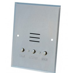 Alpha IS407CB Vandal-Resistant Apartment Flush Intercom Station