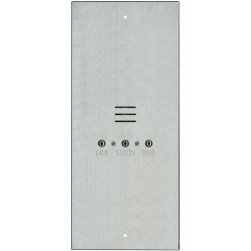 Alpha IS482C 4 Wire Apartment Station-Long-Stainless Steel