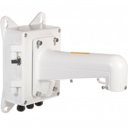 Hikvision JBPW Junction Box with Wall Bracket for PTZ Camera, White