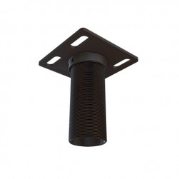 "Crimson JKCA404 Flush Ceiling Adapter with 4"" Extension, Black"
