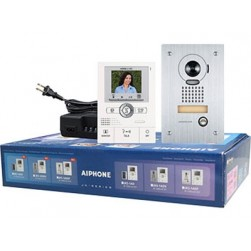 Aiphone JKS-1AEDF Video Entry Vandal Flush Set with Memory and PanTilt Zoom