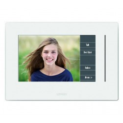 Alpha KIV-1W 7 Inch IP Color Video Monitor - White