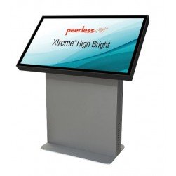 "Peerless-AV KOL549-XHB-EUK 49"" Xtreme Outdoor Landscape Kiosk, Includes XtremeTM High Bright Outdoor Display, EUK"
