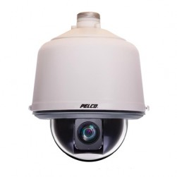 Pelco LD6F-0 Lower Dome Spectra Enhanced Flush Smoked IK10