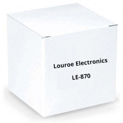 Louroe Electronics LE-870 Ceiling Mount Digital IP Microhpone