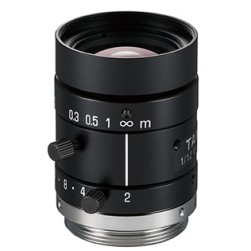 Tamron M112FM12 12mm Fixed Focal Lens with f/2.0 Aperture C-Mount