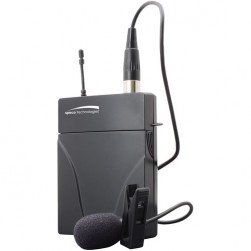Speco M24L Replacement 2.4GHz Bodypack Transmitter with Lapel Microphone