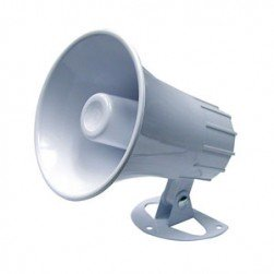 """MG Electronics, m50-h, 5"""" Indoor-Outdoor Paging Horn"""