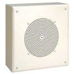 Bogen MB8TSQVR Metal Box Speakers with Recessed Volume Control