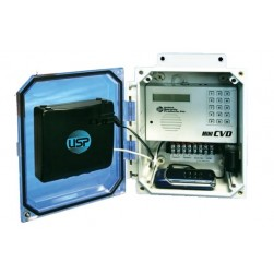 United Security Products MINI-CVDPS Cellular Dialer System 12VDC incl. phone & Prepaid Sim Card, Single Channel