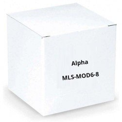 Alpha MLS-MOD6-8 8 ft. Modular Cable for DB-9