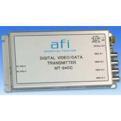 American Fibertek MR-940C 4 Ch Digital Video 10 Bit Module Receiver