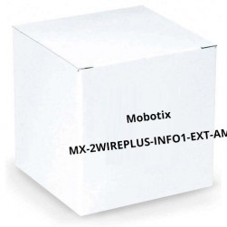 Mobotix MX-2wirePlus-Info1-EXT-AM Info Module with Technology Amber
