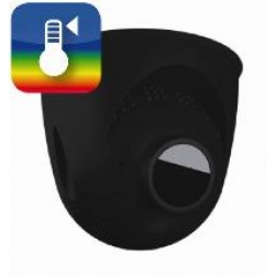 Mobotix Mx-O-SMA-TP-R237-b PTMount-Thermal TR 50 mK with B237 Lens for S16/S15 Camera 17°, Black