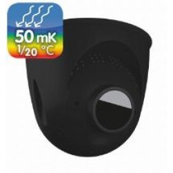 Mobotix Mx-O-SMA-TP-T079-b PTMount-Thermal 50 mK with B079 Lens for S16/S15 Camera 45°, Black