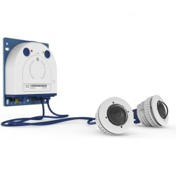 Mobotix Mx-S16A-S2 S16 DualFlex Complete Camera Set 2, 6 Megapixel Outdoor Network Camera Body with 2 B016 Day Sensor Modules