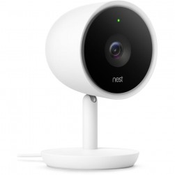 Nest NC3100US Google Nest Cam IQ Indoor Wireless Security Camera