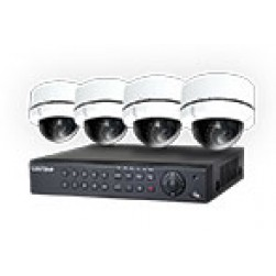 Cantek NightHawk, 4 camera TVI Security System