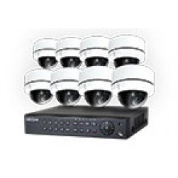 Cantek NightHawk, 8 camera TVI Security System