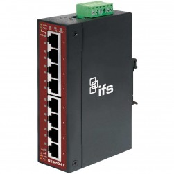 Interlogix NS3050-8T 8-Port Unmanaged Industrial Ethernet Switch