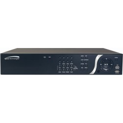 Speco N8NSP2TB 8CH 1080p Full HD NVR with Built-in PoE, 2TB