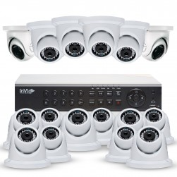 Cantek Plus NW16D4TB All Purpose 16 Camera TVI Dome Camera System