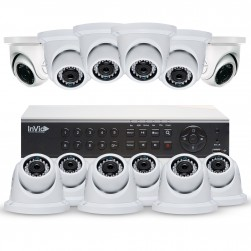 Cantek Plus NW12D4TB All Purpose 12 Camera TVI Dome Camera System